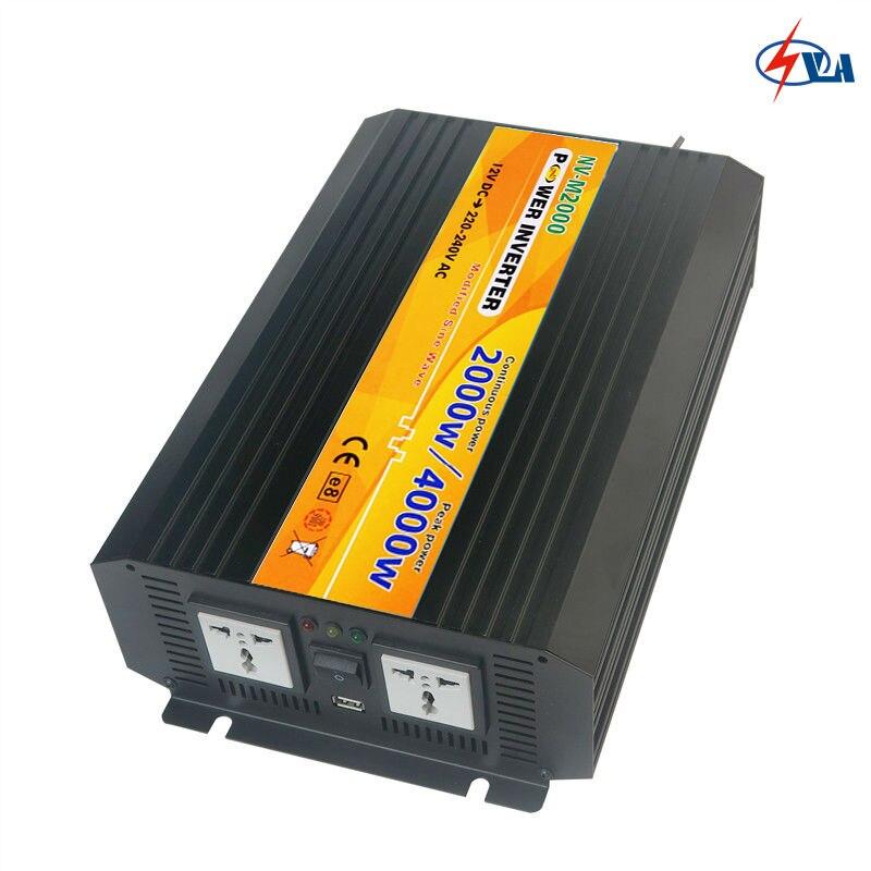 NV-M2000-121 12V DC TO 110V AC Modified Sine Wave Solar Power Inverter <br><br>Aliexpress