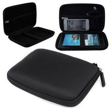 ENJOY-UNIQUE 7 Inches GPS Navigation EVA PU Hard Shell Carry Case Bag Cover Protection Package Hard Disk Drive HDD Tablet Bag
