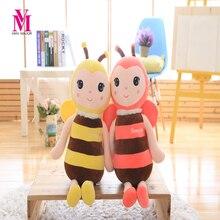 Lucky Boy воскресенье плюшевая игрушка пчела Kawaii Плюшевые Животные пчелы Куклы и мягкие игрушки для детей Рождественский подарок для детей(China)