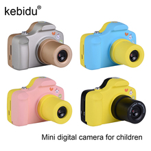Kebidu Mini Camera Children Kids Digital Camera 1.5 Inch Screen 800mAh 1920X1080 Support Micro SD/TF Card 4 colors(China)