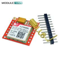 Smallest SIM800L GPRS GPS GSM Module Micro SIM Card Core Board Quad-band Antenna TTL Serial Port 3.7V-4.2V