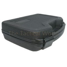 Large ABS Pistol Case Tactical Hard Pistol Case Gun Case Padded Foam Box Paintball Revolver Gun Hunting Airsoft Accessories(China)