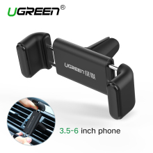 Ugreen Car Holder for iPhone 6 Mobile Phone Holder 360 Adjustable Air vent Holder Stand Car Phone Holder for Samsung Cell Phone(China)