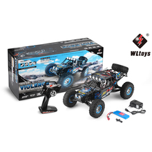 Buy New WLTOYS 10428-2 RC Car 1:10 2.4G Electric 4WD Wheel Rock Climbing Vehicle Remote Control Racing Cars Off-Road Toys Kids for $124.02 in AliExpress store