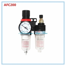 "AFR2000+AL2000 G1/4"" Air Compressor AFC2000 oil Water Separator Regulator Trap Filter Airbrush(China)"