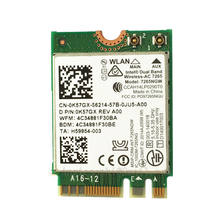 Dual Band Беспроводной-AC 7265 7265ngw 802.11ac 2x2 867 М 2.4 г/5 ГГц WI-FI BT 4.0 (NGFF) m.2 WI-FI карты для Intel Dell Toshiba(China)