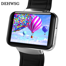 DEHWSG Android smart watch DM98 3G WiFi GPS Watch phone support SIM Card play games Fitness Tracker wearable devices PK KW88 X01