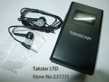 2pcs/lot TAKSTAR WPM-200 single receiving (including earphone) Professional Wireless Monitor System receiver wholesale free ship
