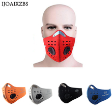 Dust Mask PM2.5 Activated Carbon Breathable Filter Outdoor Cycling Running Protection Skiing Winter Autumn For Bike Face Mask(China)