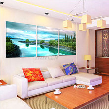 Picture Canvas Painting The Picture In The Bedroom Obrazy Do Sypialni Lienzos Paisajes Arabes Wall Pictures For Living Room Home(China)