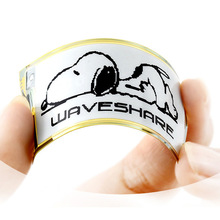 Waveshare 212x104,2.13inch flexible E-Ink raw display,black/white color, SPI interface,No