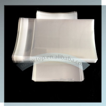 clear cellophane bag C5 167x229mm with lip and seal tape 6.5x9 inch, quality cello bag for cards & envelopes(China)