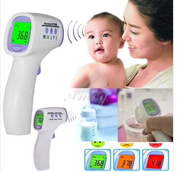 Digital termometer thermometer ear new baby/adult digital multi-function non-contact infrared forehead body thermometer<br><br>Aliexpress