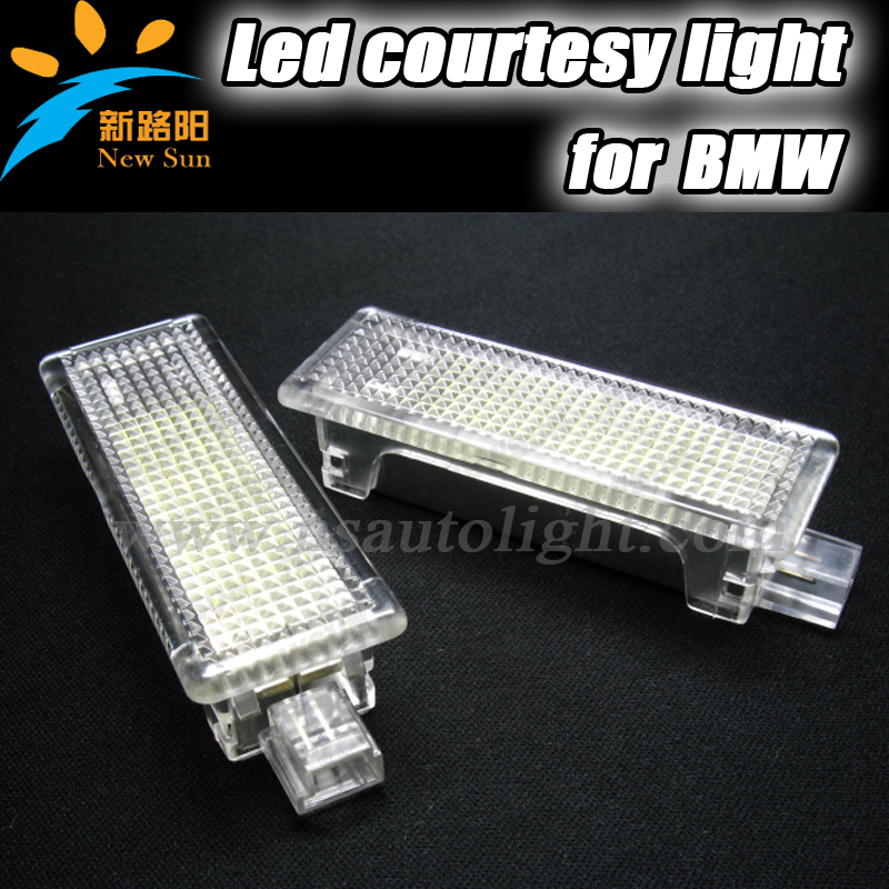 2016 New 7000K LED Car door light courtesy light welcome lamp fit for bmw E60 E61 E65 E66 E67 E68 E90 E92 E93 No O.B.C Error<br><br>Aliexpress