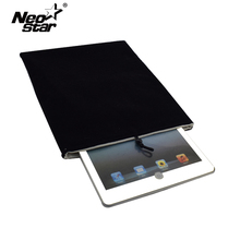 Universal Black Velvet Tablet Sleeve Simple 10 Inch Protective Pouch Case Cover For iPad Soft Tablet Accessory(China)