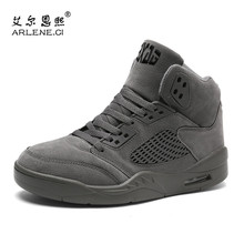 Buy High Top Mens Basketball Shoes Sneakers Air Cushion Ultra Boost Sport Shoes Male Keep Warm Outdoor Trainers Shoes Winter Men for $23.09 in AliExpress store