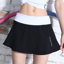 Fake 2-Pieces Fitness Yoga shorts tennis skirts women skorts girl badminton running skirt ladies tennis sport skirts