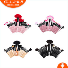 24 /32 Makeup Brush Sets, Make-up Tools, Beauty Equipment, Foundation Brush, GUJHUI, OPP Installed(China)