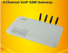 4 ports 4 SIM Card/Channels Goip GSM VOIP wireless terminal goip-4