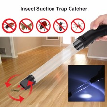 Electronic Insect Fly Catcher Trap Multi-functional Flying Pest Control Insect Suction Trap Tube Fly Insects Bugs Spider Catcher