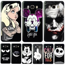 Cool Cartoon Hard PC Phone Back Cover Case For Samsung Galaxy J3 J5 J7 A3 A5 2016 2015 S3 S4 S5 Mini S6 Edge Note 3 4(China)