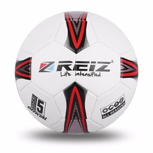 REIZ Professional Soccer Ball Official Size 5 Standard PU Football Outdoor Match Training Ball Sport Equipment(China)
