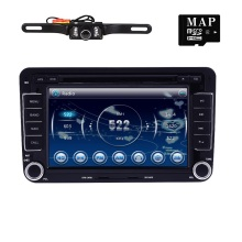 Capacitive Screen! Two Din 7 Inch Car DVD Player For Seat/Altea/Leon/Toledo/VW/Skoda Wifi 3G Host Radio FM GPS Bt 1080P Ipod Map(China)