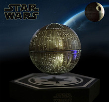 original Star Wars STARWARS death star maglev bluetooth wireless stereo rotating 360 degree speakers Magnetic levitation sound