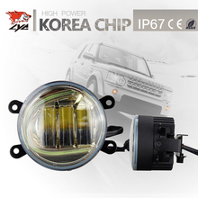 "LYC Hot Product For Jeep Fog Light Car Headlight Cleaning Led Running Light Project For Toyota Universal Lamp 3.5"" 4"" Round Lamp"