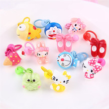 mini top hat headband Korean children's cartoon Multi-style animal rubber band hair accessories hair ring headwear headband