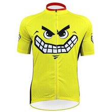 Summer Cycling Jersey Emoji Cartoon Short Sleeves Top MTB Ropa Millot Bike Wear T-shirt Sport Bicycle Clothing 4XL - Catazer Store store