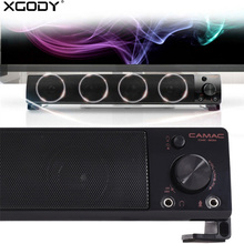XGODY CMK-30M Wired Speaker Soundbar for TV Computer Home Theater Music Center Sound Bar Subwoofer Amplifier caixa de som Column(China)