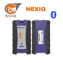 best quality NEXIQ-2 USB Link nexiq 2 + Bluetooth + Software Diesel Truck Interface and Software with All Installers DHL free