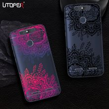 UTOPER Lace Phone Cases For ZTE Blade V8 Lite Case Silicone Mandala Flower Cover For ZTE Blade V8 Coque For ZTE Blade V 8 Lite(China)