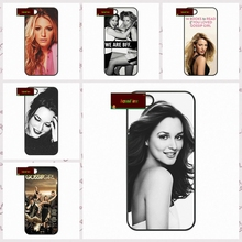Gossip Girl blake lively Cover case for font b iphone b font 4 4s 5 5s