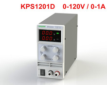 Newest mini switching DC power supply KPS1201D 120V 1A adjustable DC regulated power supply Digital 0.1V 0.01A(China)