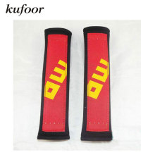 Kufoor 2017 Hot Selling Racing Padding/Racing Shoulder Cover/Seatbelt Cover MO model Car Styling Seat Belt Cover(China)