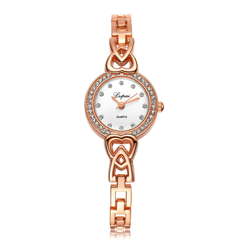 New Fashion Rhinestone Watches Women Luxury Brand Stainless Steel Bracelet watches Ladies Quartz Dress Watch reloj mujer 161206<br><br>Aliexpress