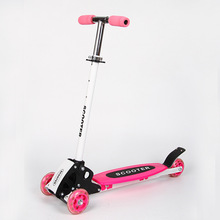 S Free Shipping 3-16y Foldable Child Scooter, 3 Wheels Folding Kids Scooter, children kick scooters foot scooters