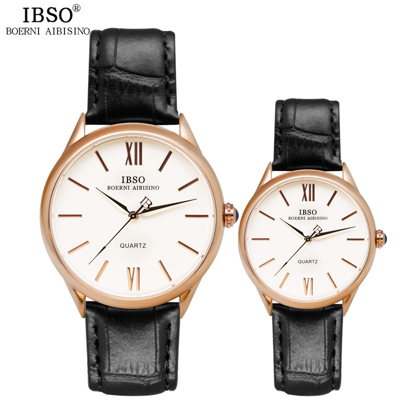 IBSO Brand Watch Women Luxury 30m Waterproof Women Watches 2017 Genuine Leather Band Quartz Wristwatches Montre Femme<br><br>Aliexpress