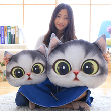 40cm Big eyed Cat air conditioning blanket Toys Expression cat pillow Soft Cushion Stuffed plush kids doll baby birthday gift