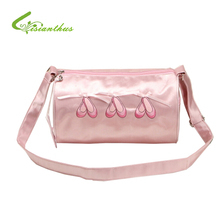 New Fashion 2017 Girls Ballet Dance Bag Child Pink Cute Crossbody Backpack Personalized Makeup Women Tote Gym/Large Dance Bag