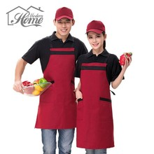 Delicate Kitchen Restaurant Cooking Apron Cotton Avental Delantal Chef Waiter Dress Cook Baking Tool For Men Women