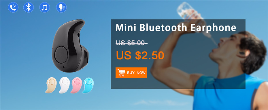 S530 Mini Bluetooth Earphone Wireless Portable Earpiece Hands-free Headset