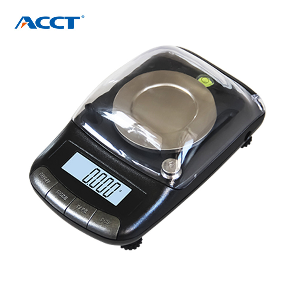 0.001g Precision Portable Electronic Jewelry Scales 20g/0.001 Diamond Gold Germ Medicinal Pocket Digital Scale Weighing Balance<br>