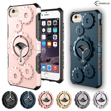 Fitted Case for Apple iPhone 6 S 6S plus 5.5'' / iPhone6plus iPhone6Splus The arm band 360 degree rotating bracket phone case(China)