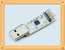 Free Shipping!!! usb to serial module / usb transfer ttl / hard disk repair / STC download / CP2102 firmware upgrade(China)