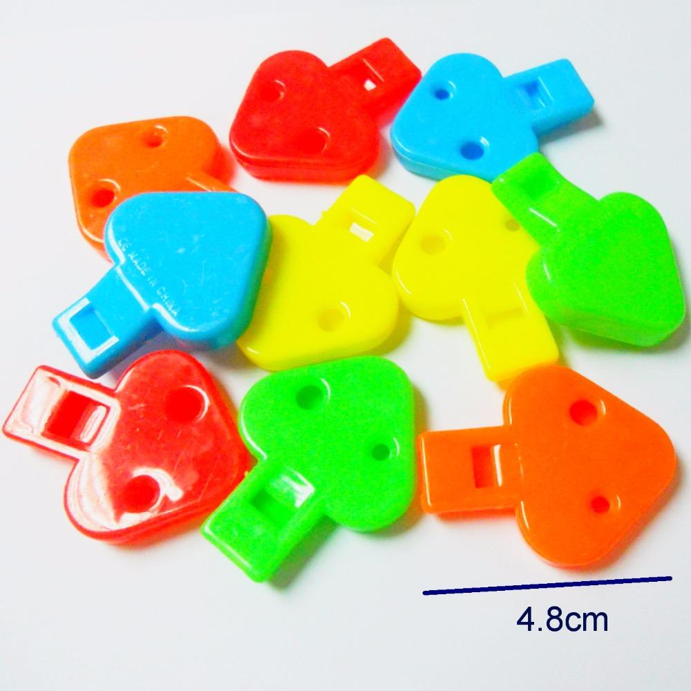 E127 Heart flat whistle 3.8g