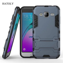 For Samsung Galaxy J3 Case J320 J320F J320H Heavy Duty Hybrid Hard Rugged Rubber Cover for Samsung J3 2016 Phone Cases Armor (<