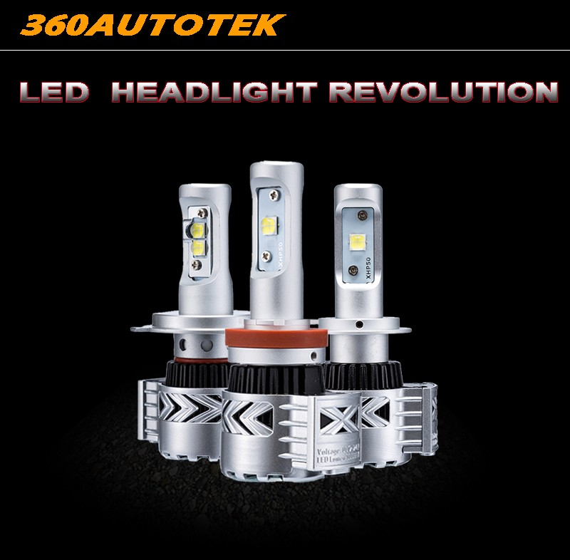 H4 H11 H13 9005/HB3 9006/HB4 H7 Led Car Headlight Kits Dipped Beam &amp; High Beam CREES Chips Auto LED Fog Lamps Bulbs 6500K<br><br>Aliexpress